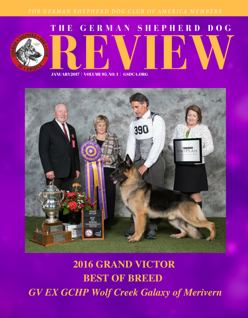 8.75x11.25 JAN2017 GSDCA GSD Review Cover