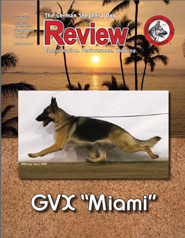 GSD Review - January Cover