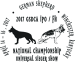 2017 GSDCA National ChampionshipSM