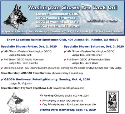 Washington Specialty Cluster