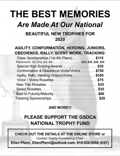 GSDCA National Trophy Fund